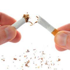 E de la personne cessant de fumer