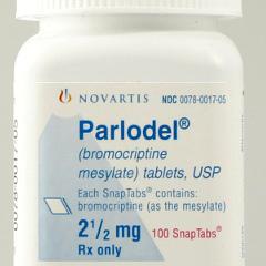 bromocriptine contre la mont 233 e de lait risques cardiovasculaires neurologiques et