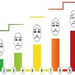 Lors de consultations médicales, les patients sont souvent invités à  évaluer leur douleur sur une « échelle visuelle analogique » (EVA) qui se  présente sous ...