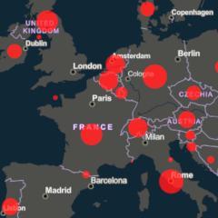 Coronavirus Covid 19 Carte En Temps Reel De La Propagation Dans Le Monde Psychomedia
