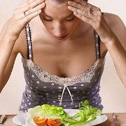 Anorexie: la libération de dopamine, liée à la nourriture ou autre, amènerait une anxiété plutôt qu'un plaisir