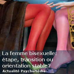 La femme bisexuelle: étape, transition ou orientation stable?