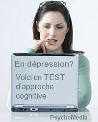 En dépression? Voici un TEST d'approche cognitive